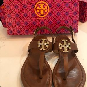 Tory Burch leather sandal